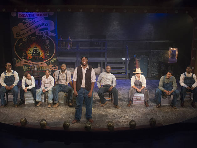 Direct from Death Row the Scottsboro Boys at Raven Theatre