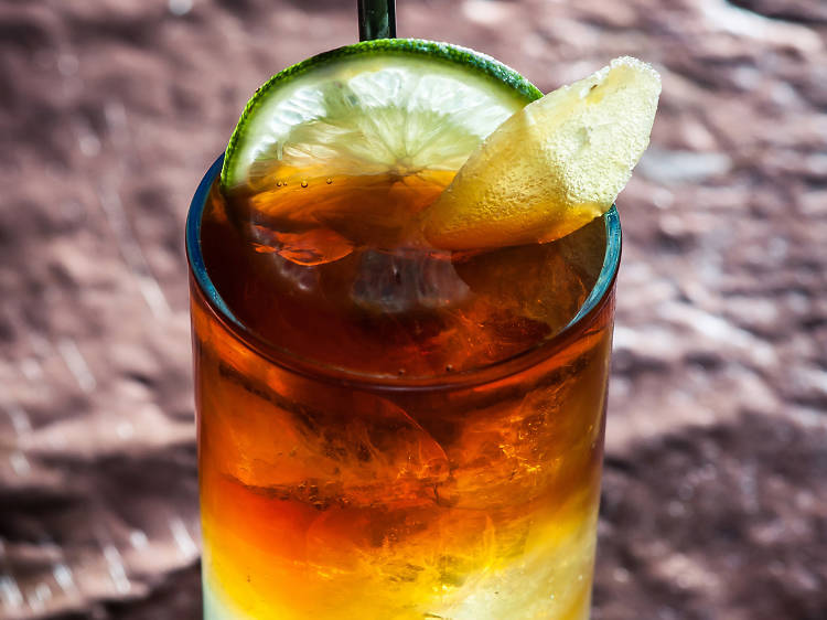 Dark and Stormy at the Rum House