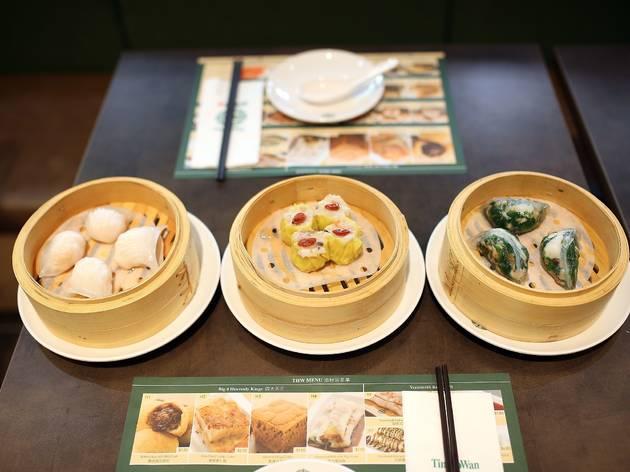 Selection of dumplings at Tim Ho Wan