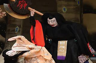 Kabuki: en los límites de Osaka, bajo la nieve del amor.