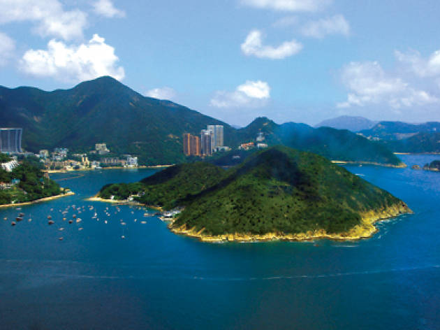 photograph of middle island in hong kong