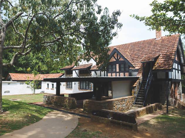 Visitor centre, House No 1