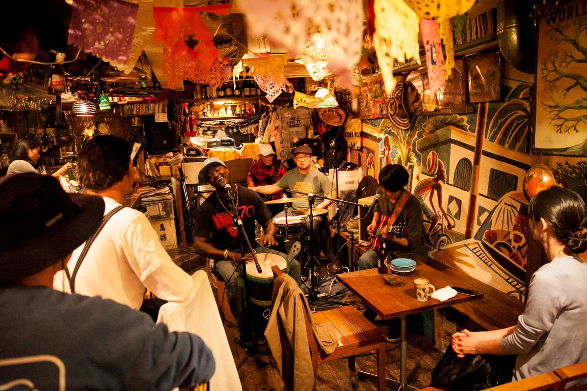 Best Tokyo bars for world music