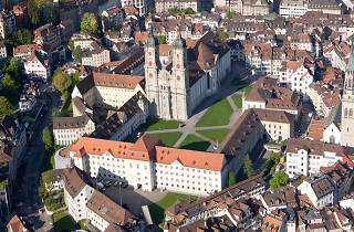 St Gallen - Abbey area
