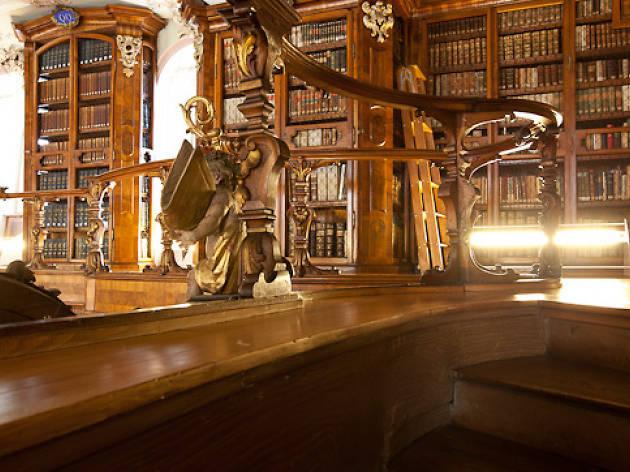 St Gallen library - Stiftsbibliothek