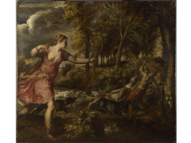 'The Death of Actaeon', Titian