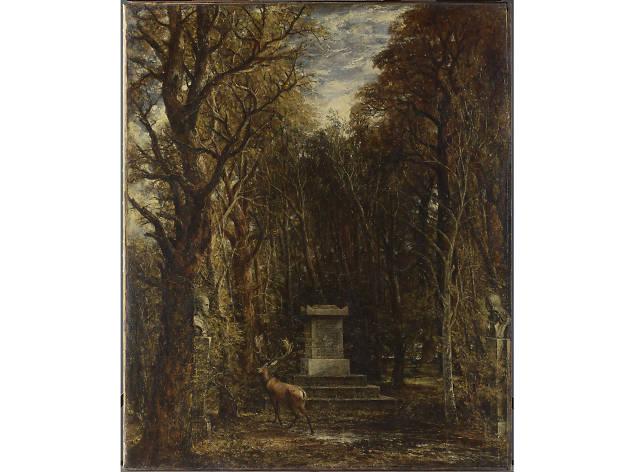 'Cenotaph to the Memory of Sir Joshua Reynolds', John Constable
