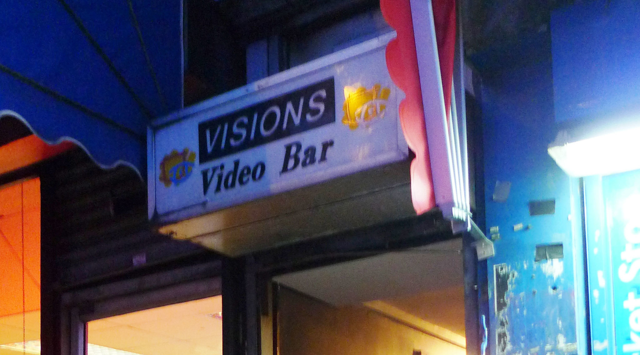 Visions Video bar dalston