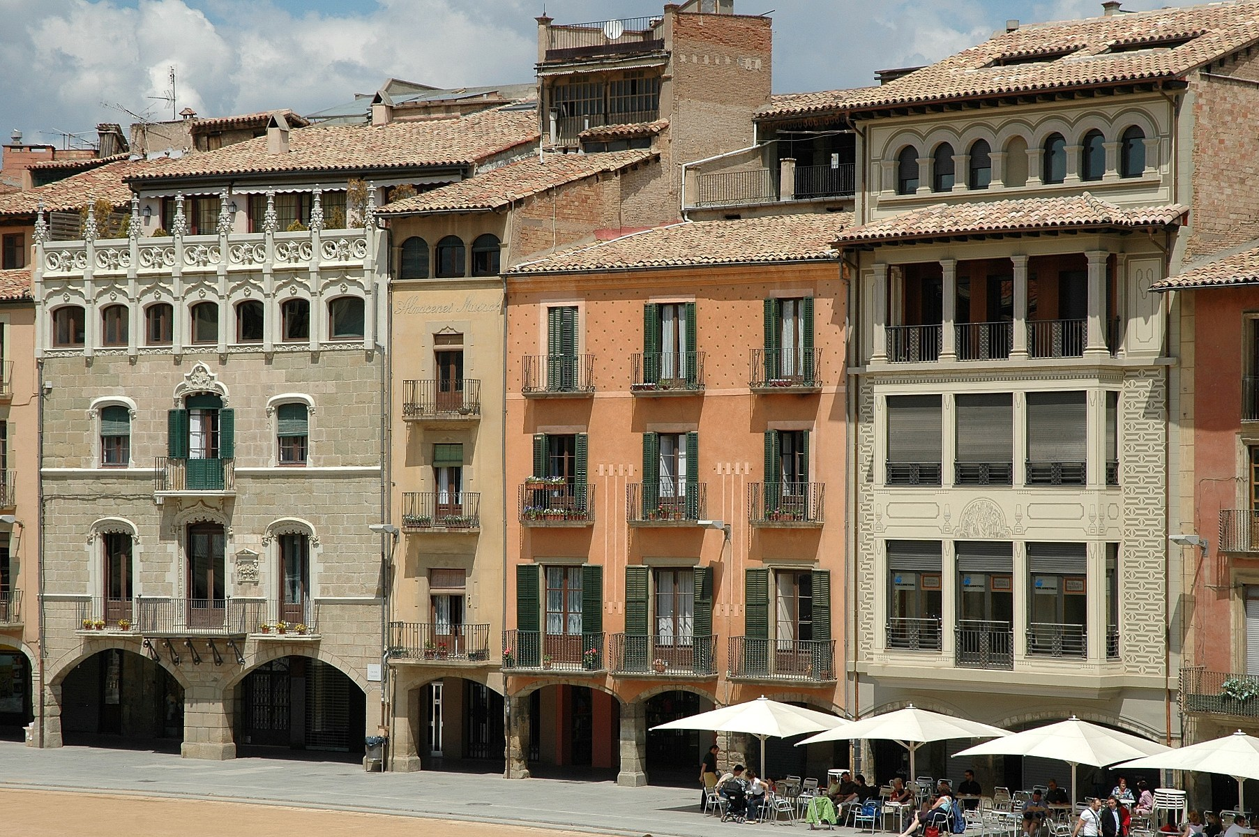 Charcuterie and cycle routes in Osona