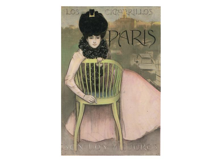 Cartell Cigarrillos París