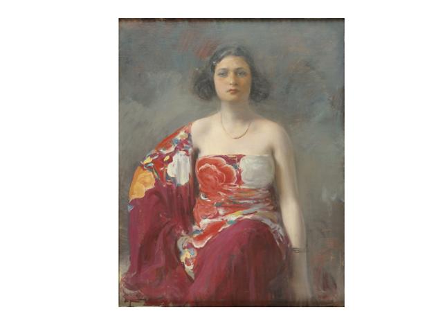 La Trini (Retrat de Júlia) (1916)