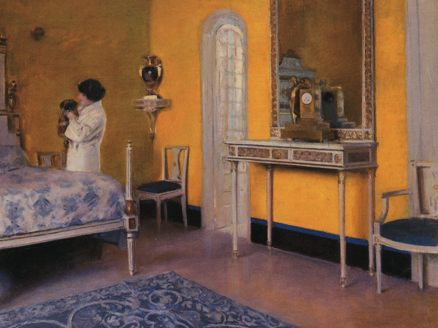 Júlia en blau (c.1908)