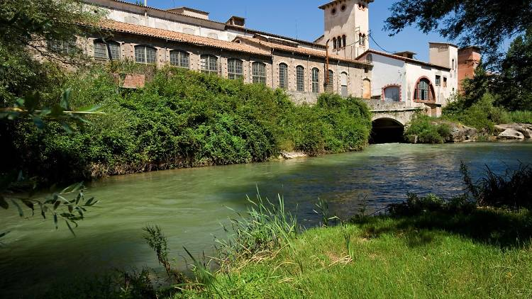 Parc Fluvial del Llobregat Colònia Viladomiu Vell