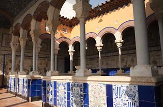 Sitges ,terrassa del palau Maricel