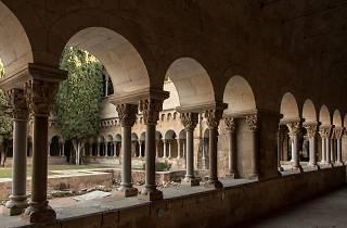 Claustre del monestir de Sant Cugat