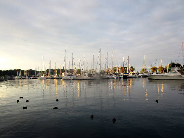 Belmont Harbor, Lakeview