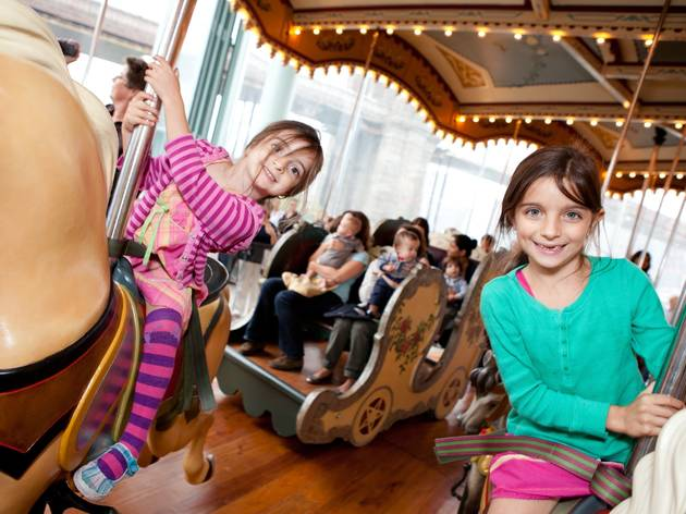 Jane's Carousel Opens in Brooklyn Bridge Park