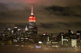 Here's why the entire New York skyline is turning red this Thursday