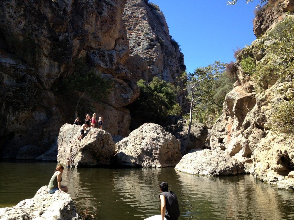 Malibu Creek Rock Pool
