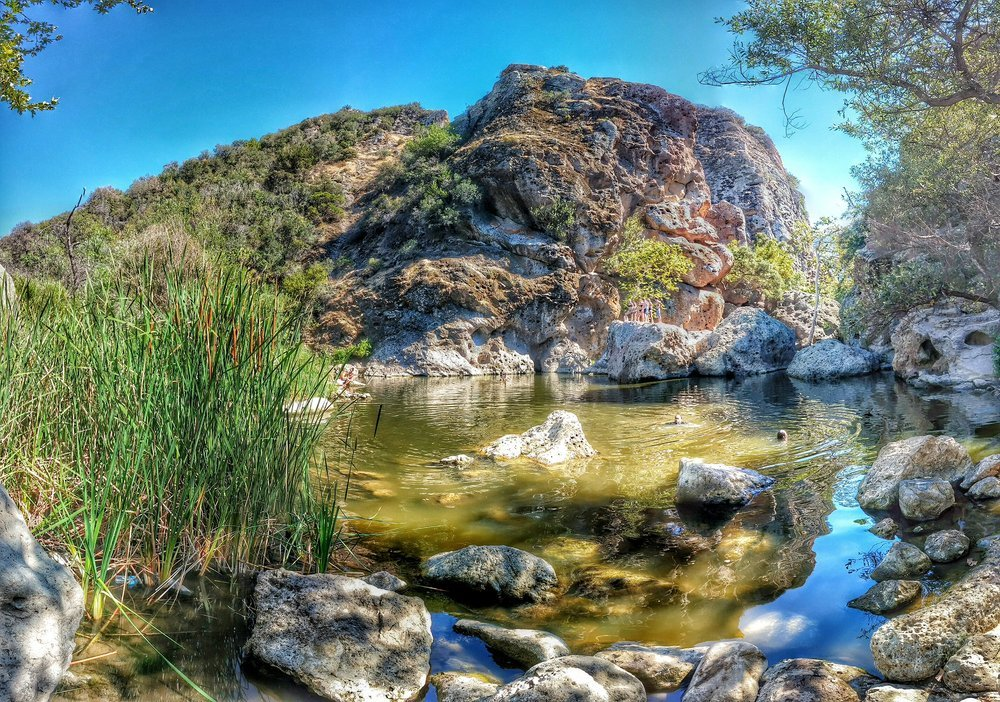 Swimming holes near Los Angeles