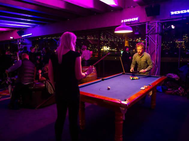 Deep Purple Pool Hall