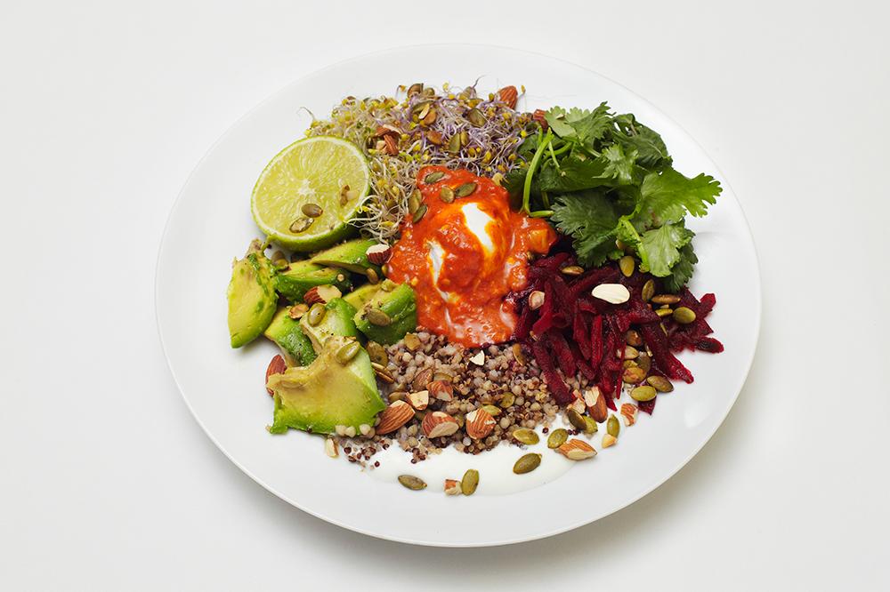 Buckwheat Salad of The Bills