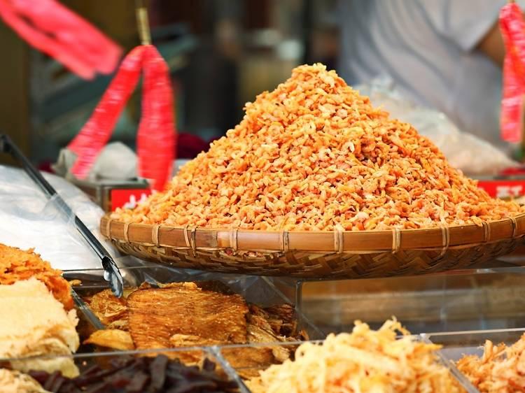Dried shrimps