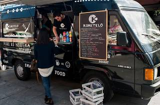 Spain Eating Tour Food Truck