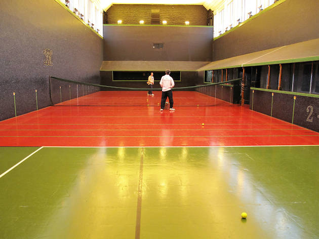 real tennis, hampton court