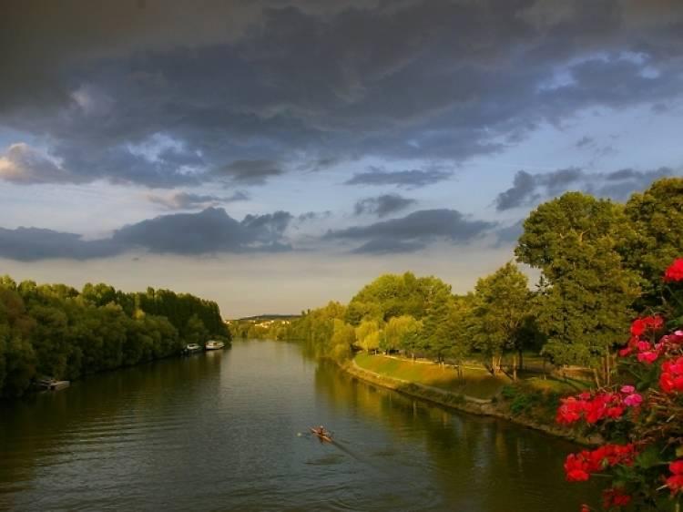 Si maman aime le changement... Visiter Auvers-sur-Oise