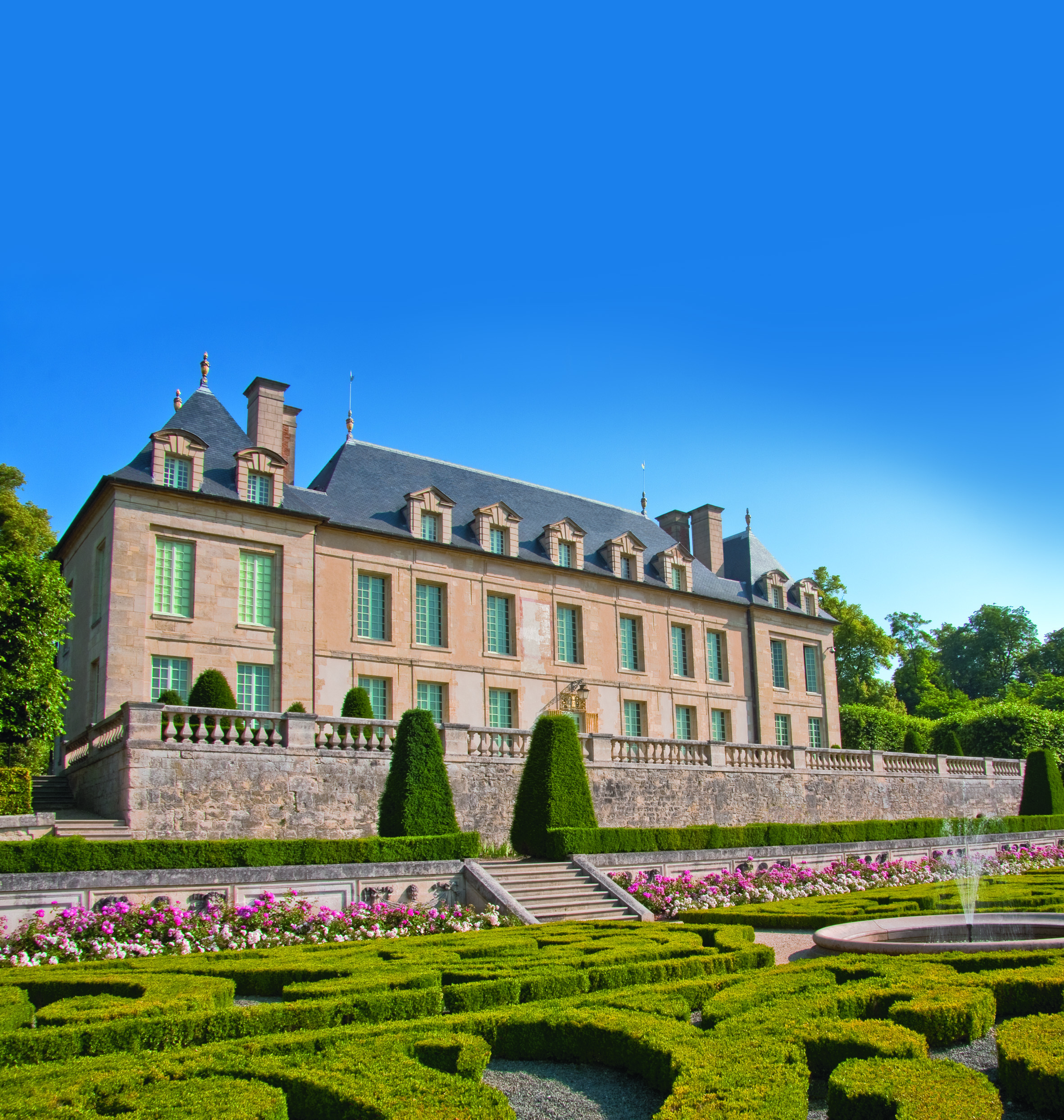 Stroll in the gardens of the Château d'Auvers