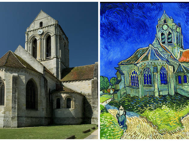 Admire the legendary église d'Auvers