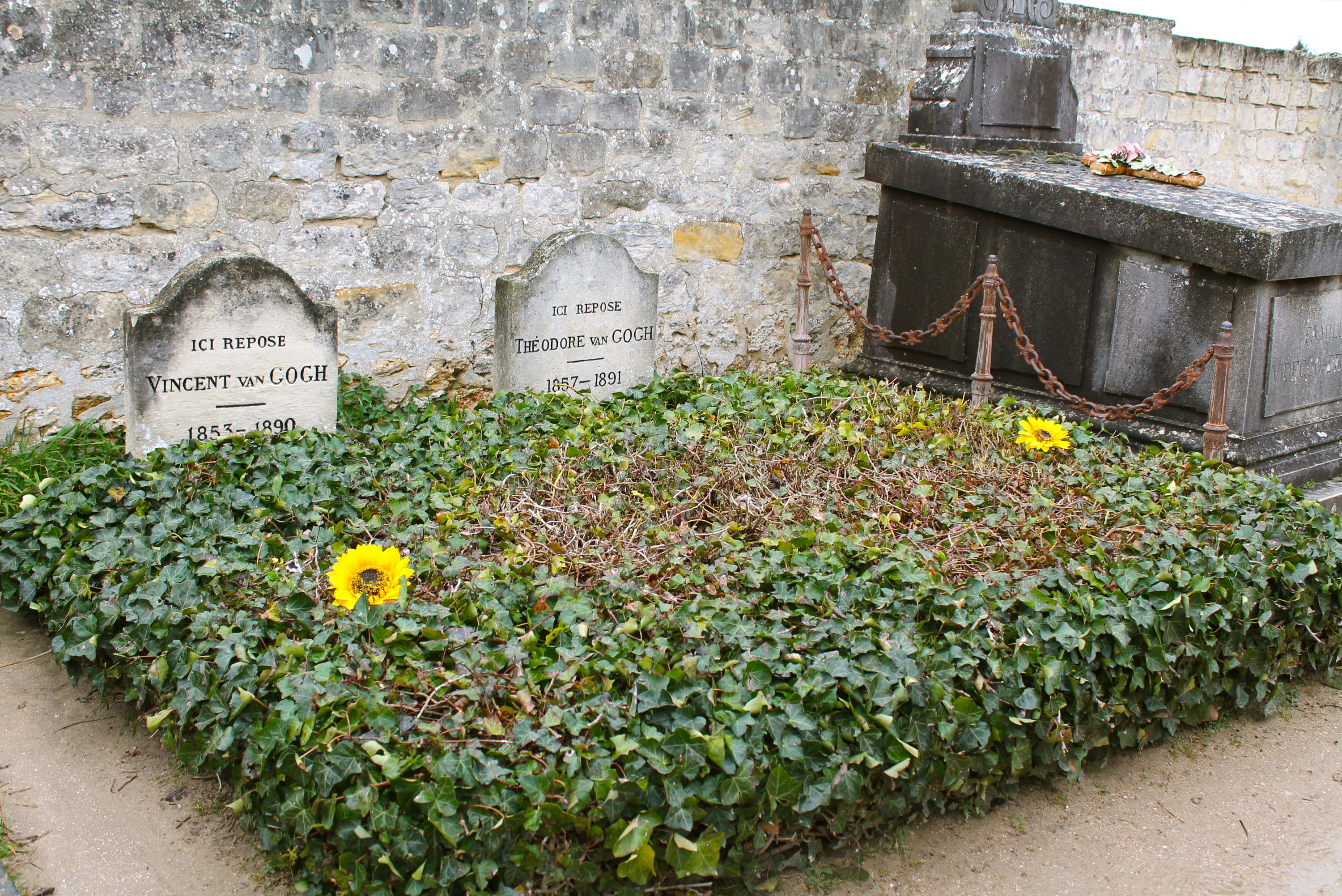 See van Gogh's final resting place
