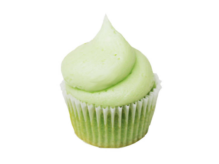 Double pistachio cupcake at Sweethaus