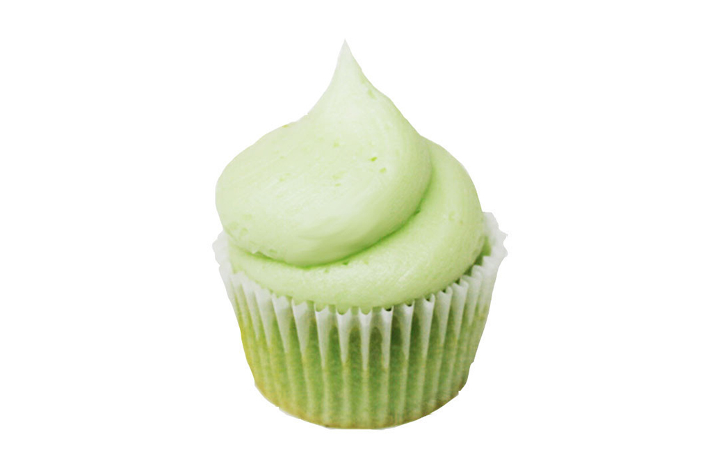 Pistachio cupcake at Sweethaus