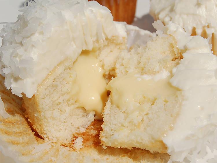 Coconut cream cupcake at Buttah