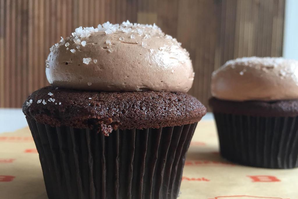 Sweet 'n Salty cupcake at Baked