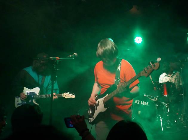 Dinosaurios Surf Club en el Festival Marvin