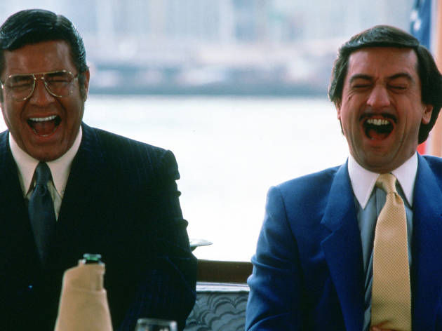 De Niro as the world's worst comedian in Scorsese classic The King of Comedy!