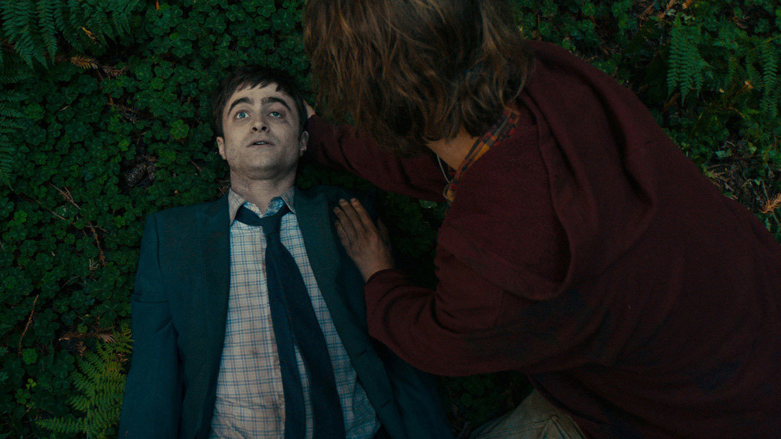 Daniel Radcliffe in that farting corpse movie!