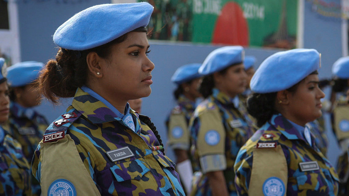 Muslim women peacekeepers!
