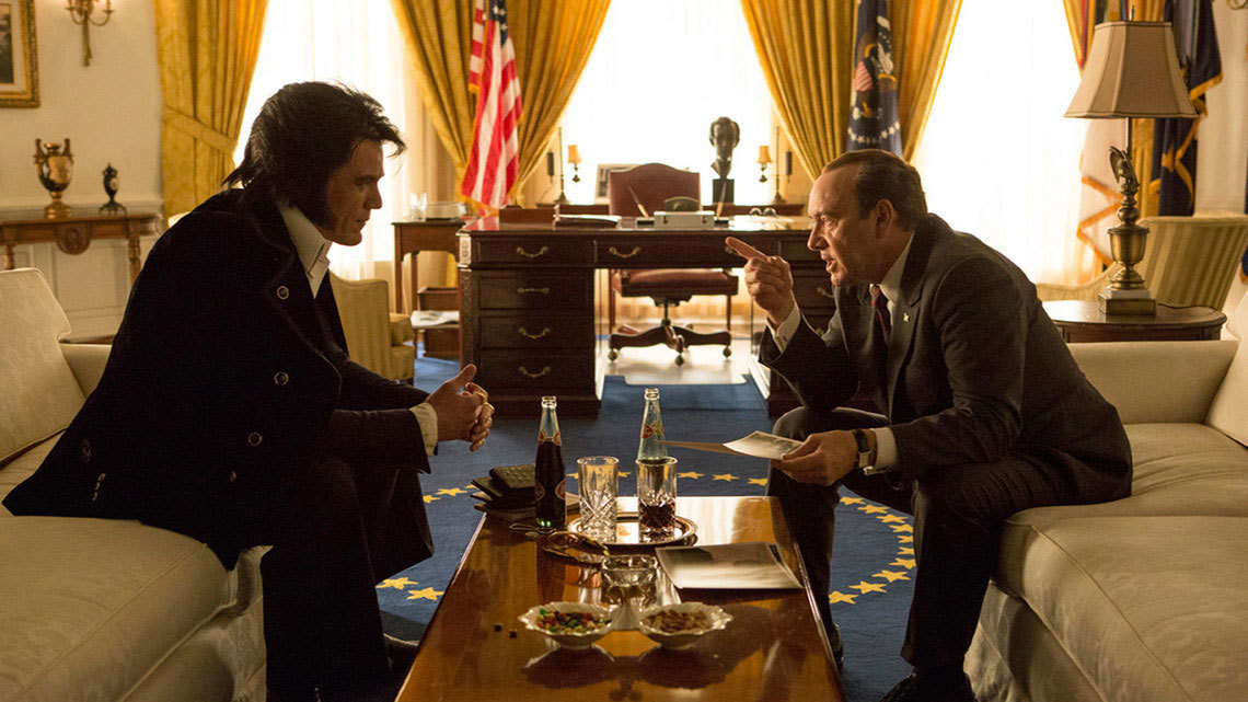 Elvis Presley meets Richard Nixon!