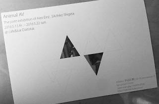 Animal AV / exhibition of SAchiko and Alex Einz