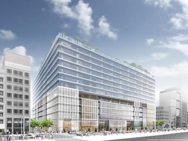 銀座六丁目10地区第一種市街地再開発事業