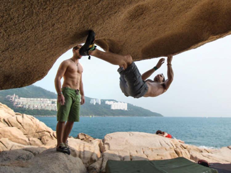 Where to go rock climbing in Hong Kong