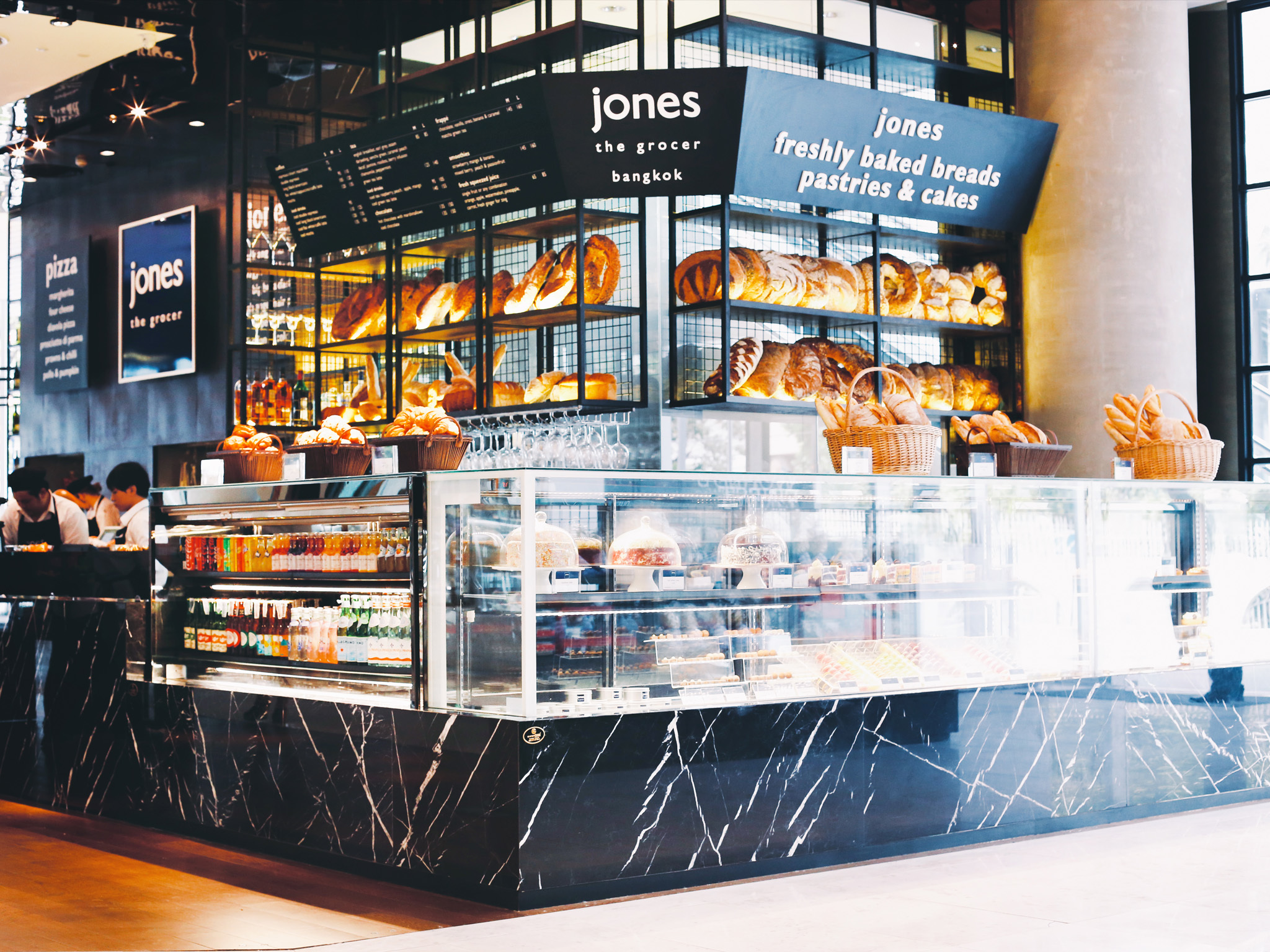 International Restaurant at jones the grocer
