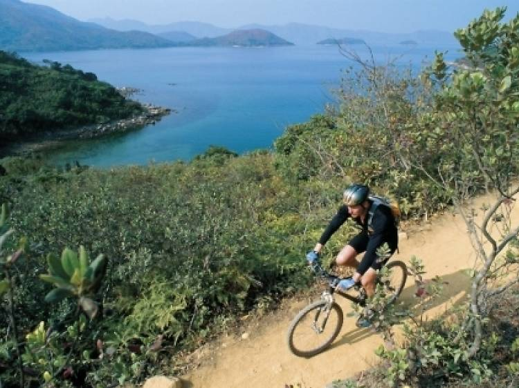 Biking in Nam Sang Wai