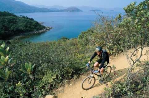 Biking in Nam Sang Wai