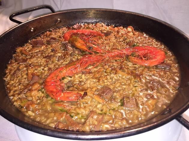 Raviolo restaurant Manresa
