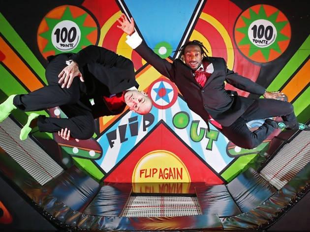 Jump around! London's biggest trampoline park opens today